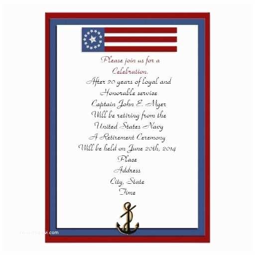 Military Retirement Invitations 15 Best Military Retirement Invitation Template Images On