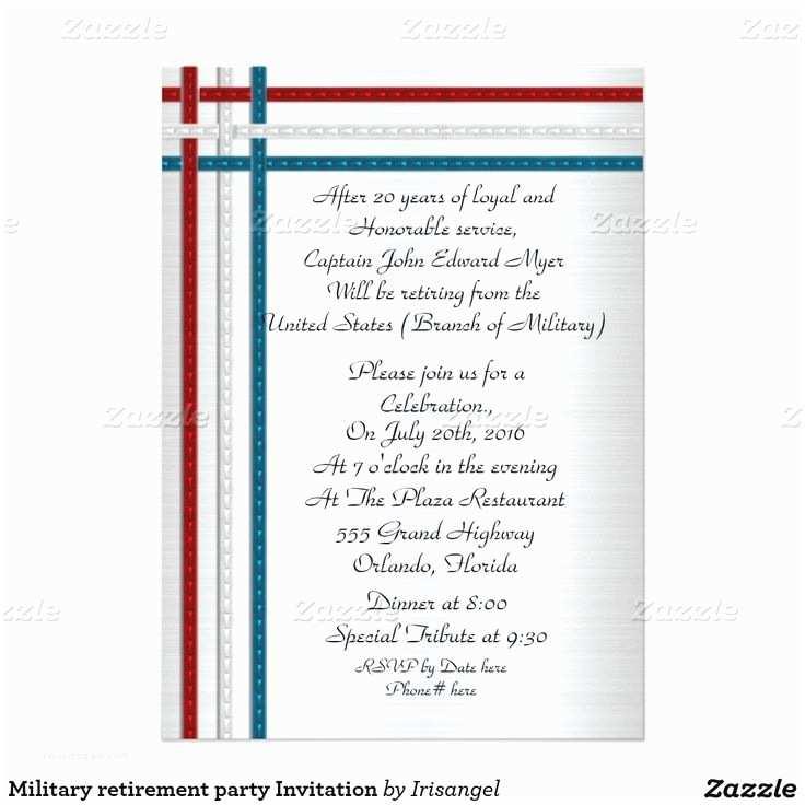 Military Retirement Invitations 44 Best Military Retirement Party Invitations Images On