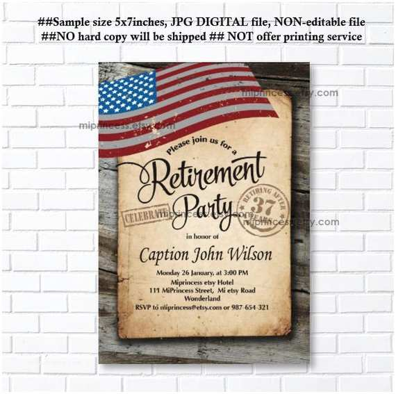 Military Retirement Invitations Military Save the Date