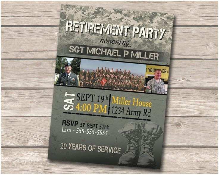 Military Retirement Invitations Military Retirement Invitation Flyer – orderecigsjuicefo