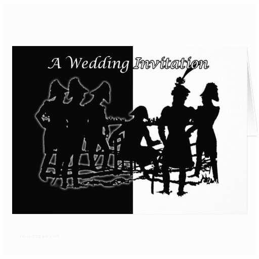 Military Wedding Invitation Wording Samples Military Wedding Invitation Napoloionic Era Greeting Card