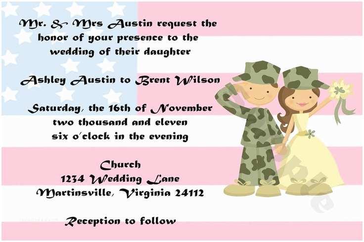 Military Wedding Invitation Wording Samples Templates Proper Wording Military Wedding Invitations In