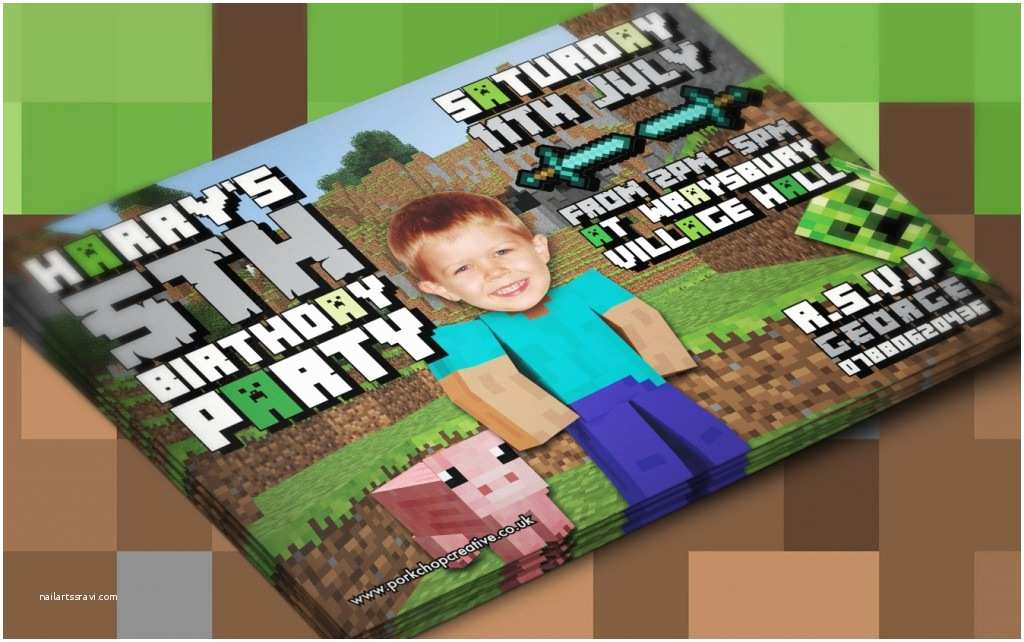 Minecraft Birthday Invitations Love Birds Wedding Invitations