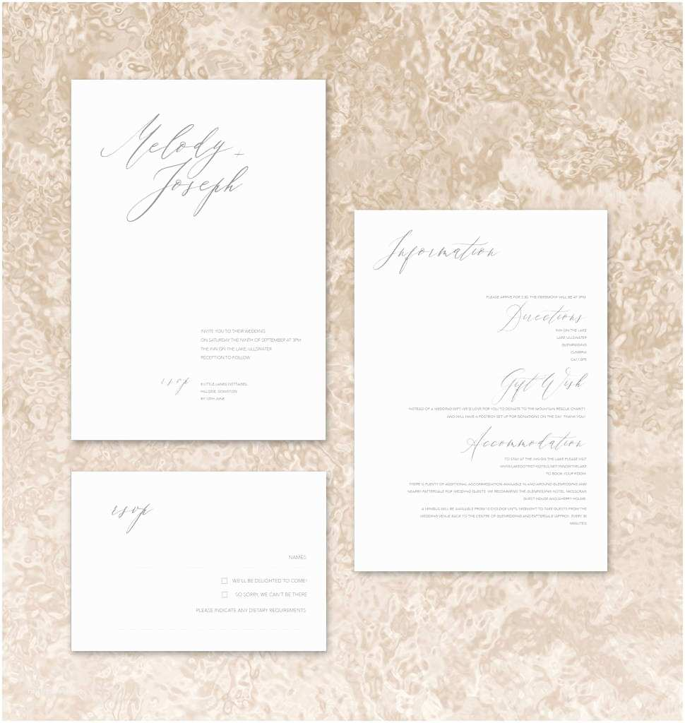 Minimalist Wedding Invitations Fashionista Modern Minimalist Wedding Invitations by by