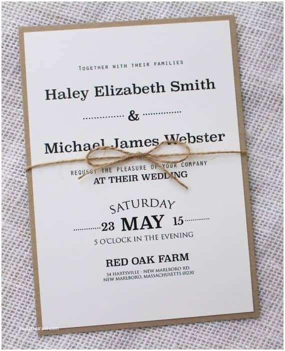 Minimalist Wedding Invitations Simple Wedding Invitations Best Photos Cute Wedding Ideas
