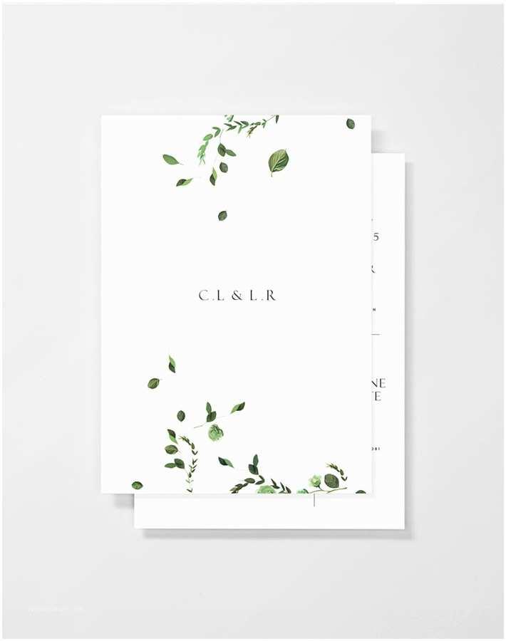 Minimalist Wedding Invitations Venamour Press Makes Cool Wedding Invitations