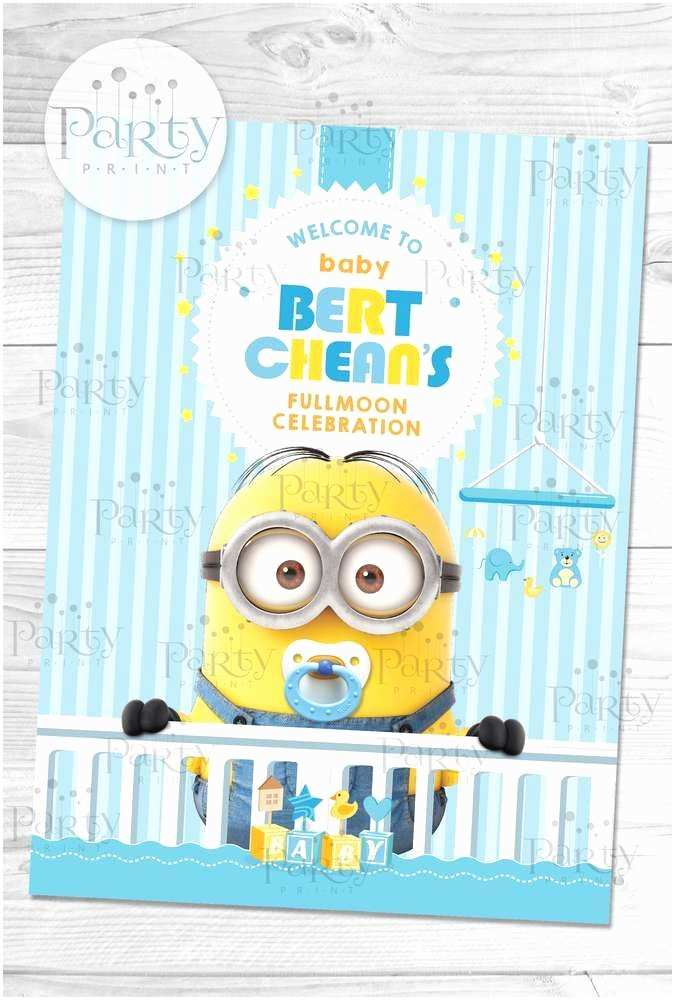 Minion Baby Shower Invitations 17 Best Ideas About Minion Baby Shower On Pinterest