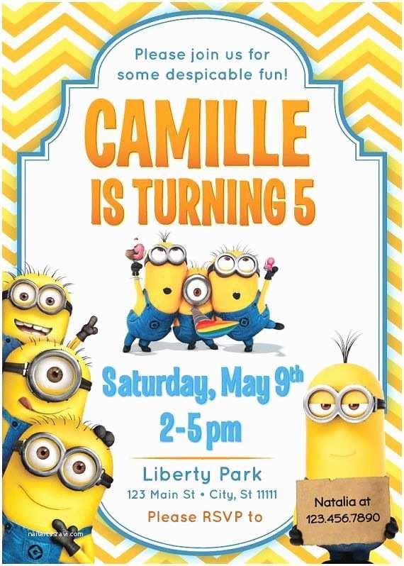Minion Birthday Invitations 7 Best Fiesta Minions Images On Pinterest