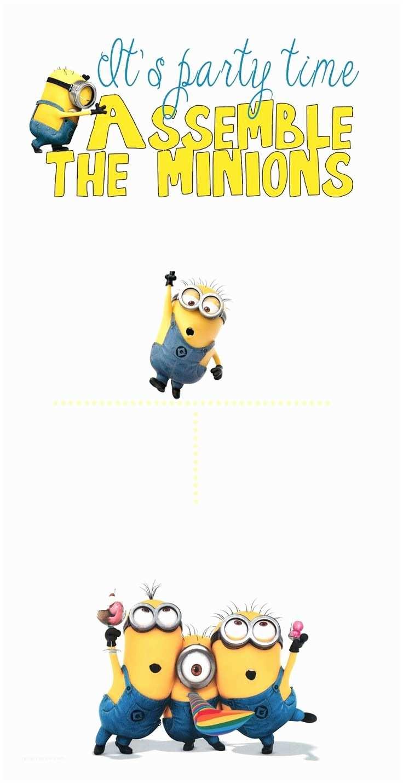 Minion Birthday Invitations Best 25 Minion Party Invitations Ideas On Pinterest
