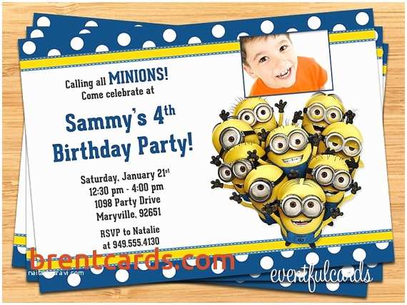 Minion Birthday Party Invitations Simple Printable Cards Best Hot Wheels Square