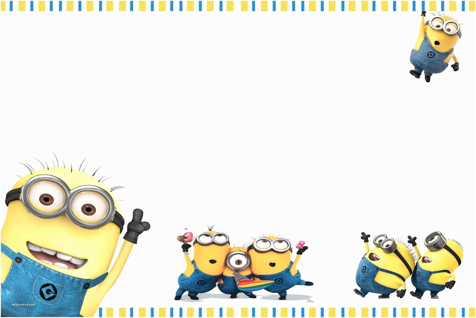 Minion Party Invitations Moms Kid Party Link Minions Party Invites