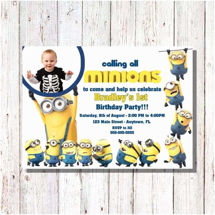 Minions Birthday Invitations 25 Best Ideas About Minion Birthday Invitations On
