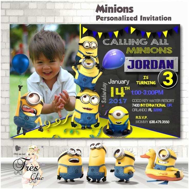 Minions Birthday Invitations Best 25 Minion Birthday Invitations Ideas On Pinterest