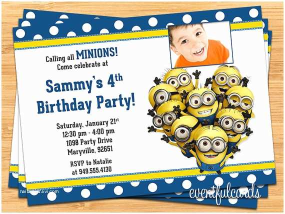 Minions Birthday Invitations Free Printable Minion Party Ideas