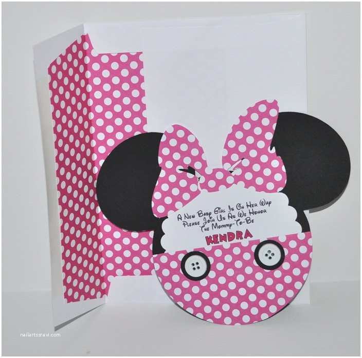 Minnie Mouse Baby Shower Invitations Baby Minnie Mouse Baby Shower Invitations