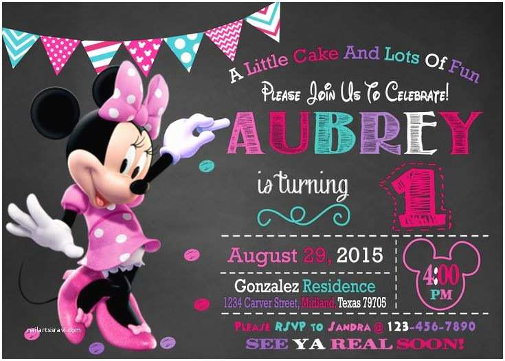 Minnie Mouse Birthday Invitation Best 25 Minnie Mouse Birthday Invitations Ideas On
