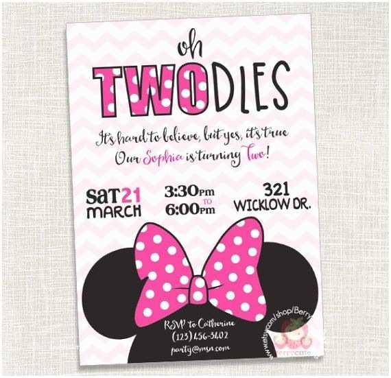 Minnie Mouse Birthday Invitation Get 20 Minnie Mouse Birthday Invitations Ideas On
