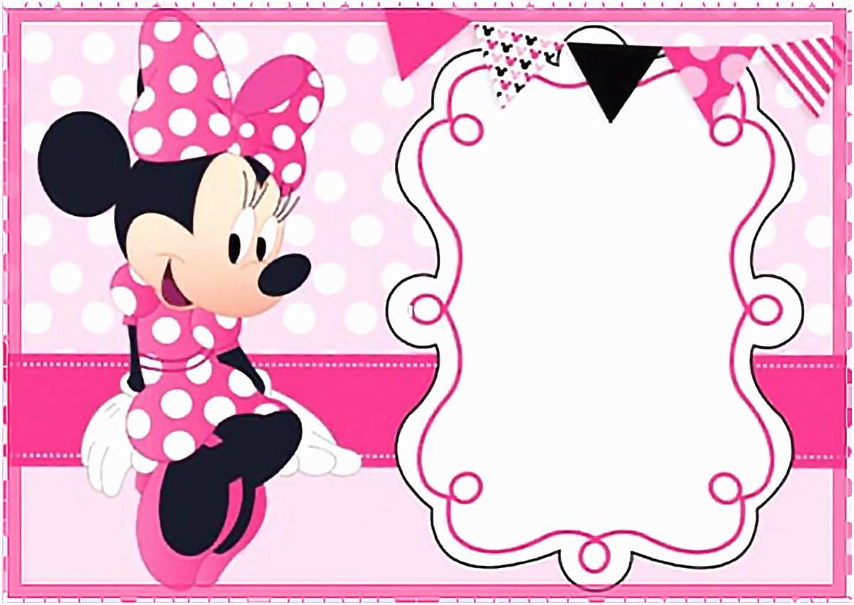 Minnie Mouse Birthday Invitations 32 Superb Minnie Mouse