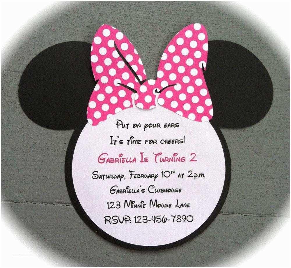 Minnie Mouse Birthday  Personalized 22 Custom Birthday