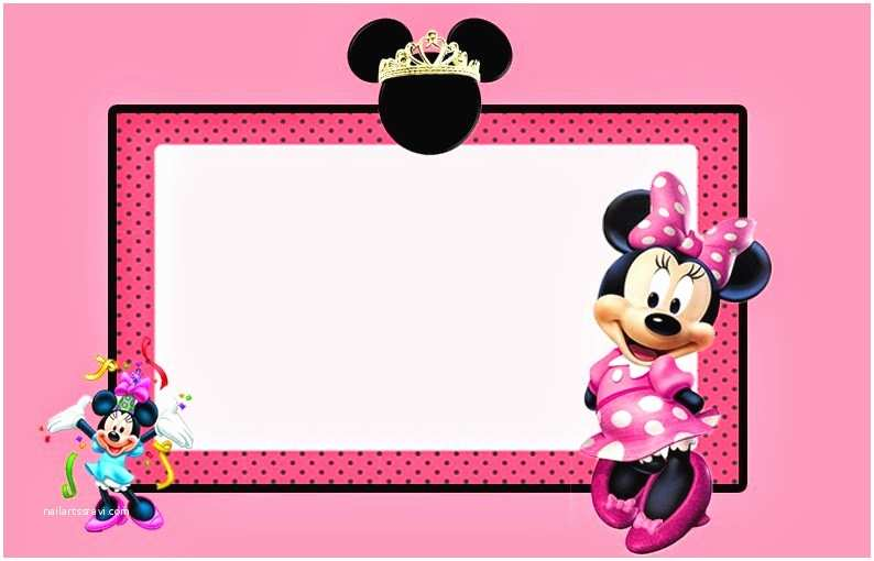 Minnie Mouse Birthday Invitations Personalized 32 Superb Minnie Mouse Birthday Invitations