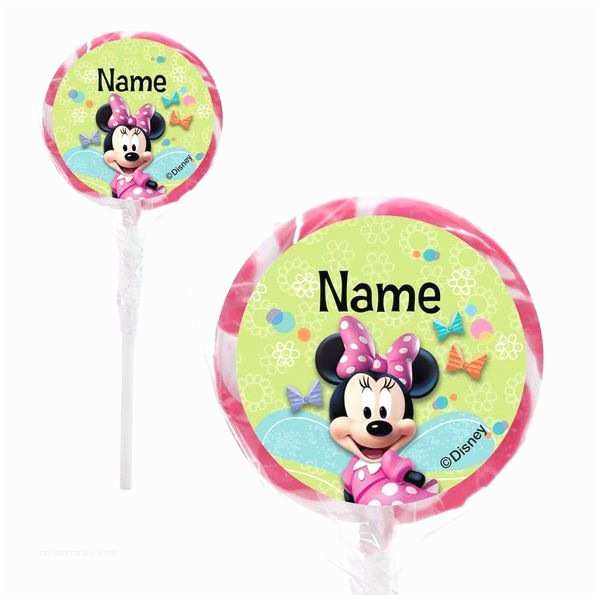 Minnie Mouse Birthday Invitations Personalized Minnie Mouse Personalized 2 Lollipops Low Priced Minnie