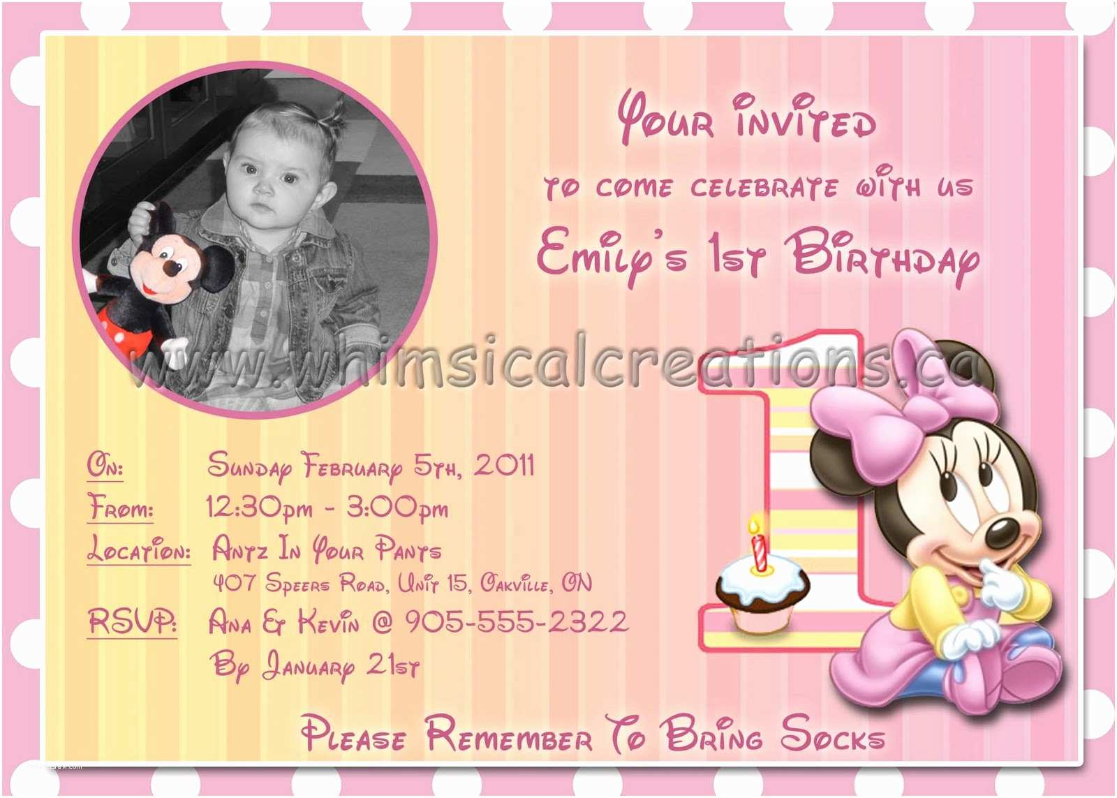 Minnie Mouse Birthday S Personalized Whimsicalcreations Minnie Mouse Birthday