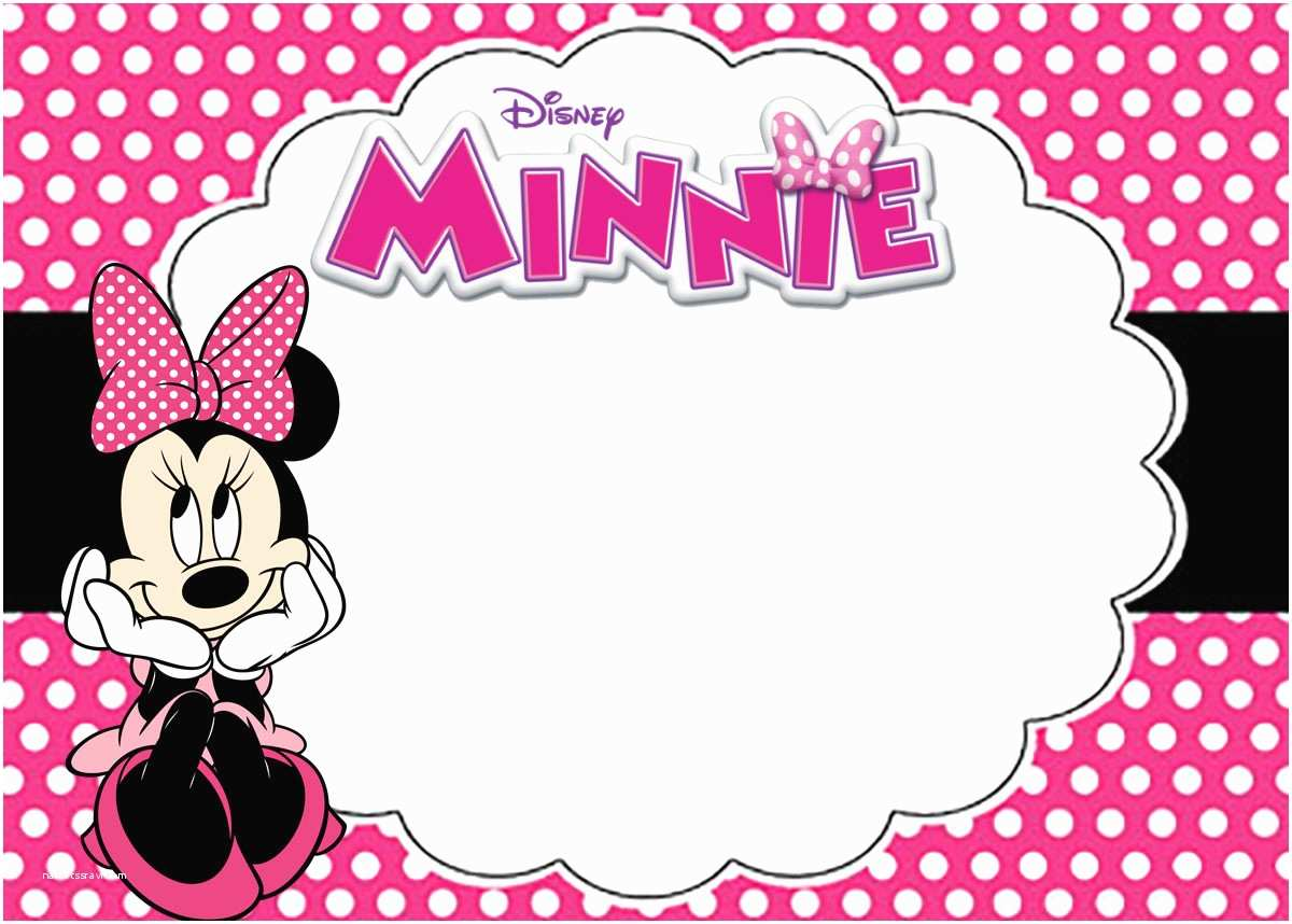 picture about Printable Minnie Mouse Invitations known as Minnie Mouse Birthday Social gathering Invites Absolutely free Minnie Mouse