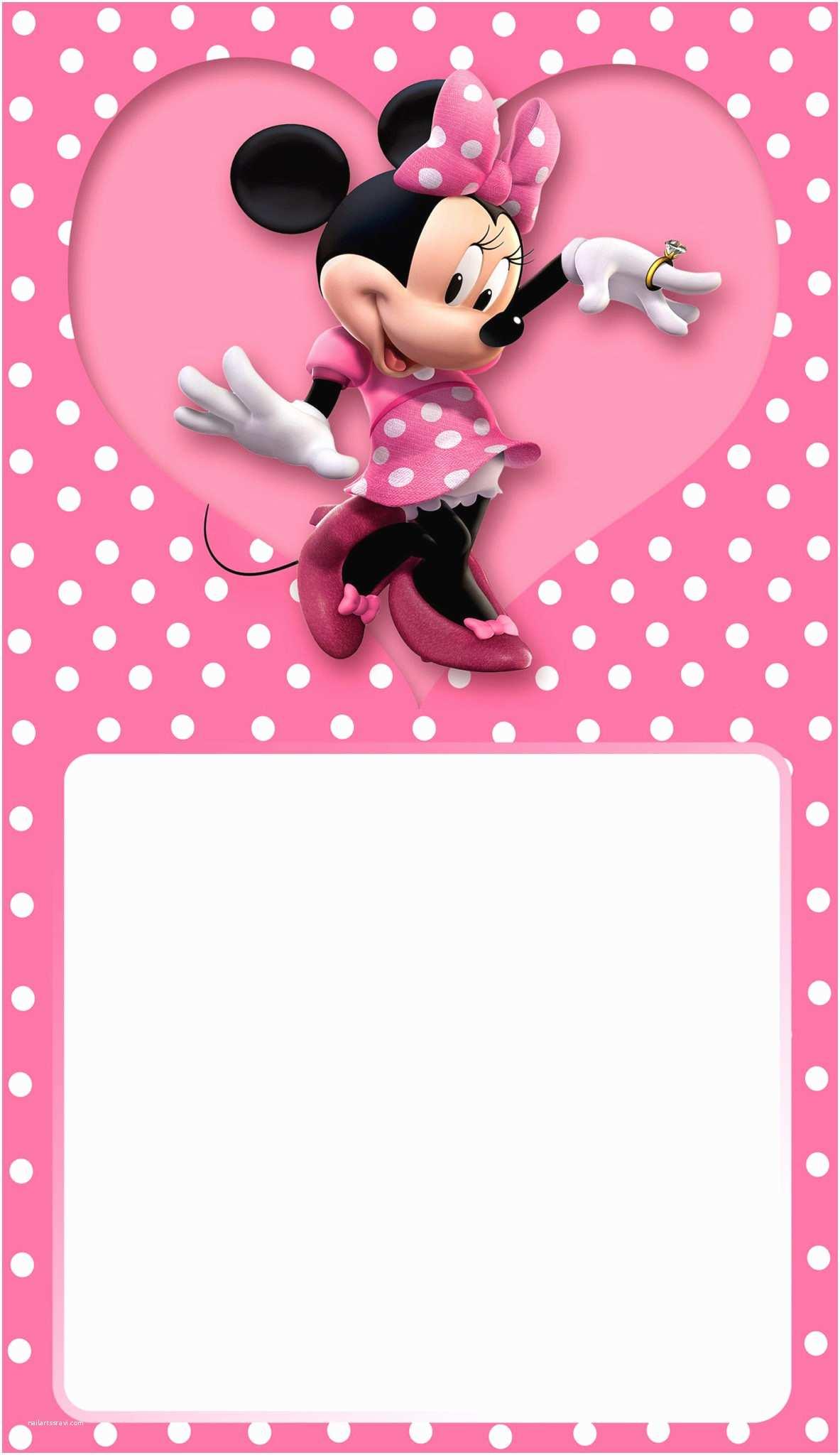 Minnie Mouse Birthday Party Invitations Minnie Mouse Birthday Party Invitation Free Printable