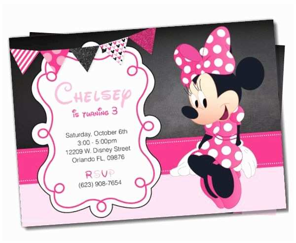 Minnie Mouse Party Invitations Awesome Invitation Template 21 Free Psd
