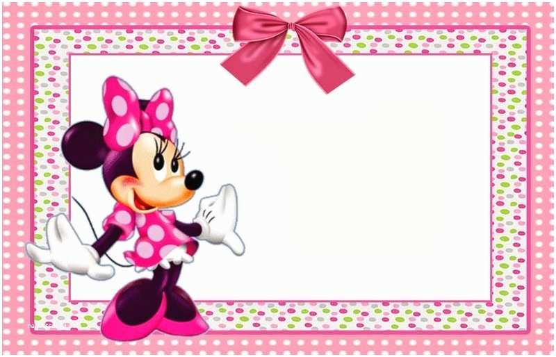 Minnie Mouse Party Invitations Minnie Mouse Free Printable Invitation Templates