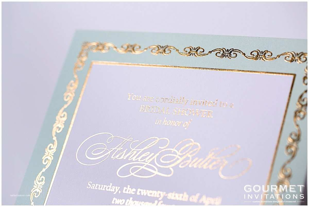 Mint and Gold Wedding Invitations Mint and Gold Wedding Invitations Gourmet Invitations