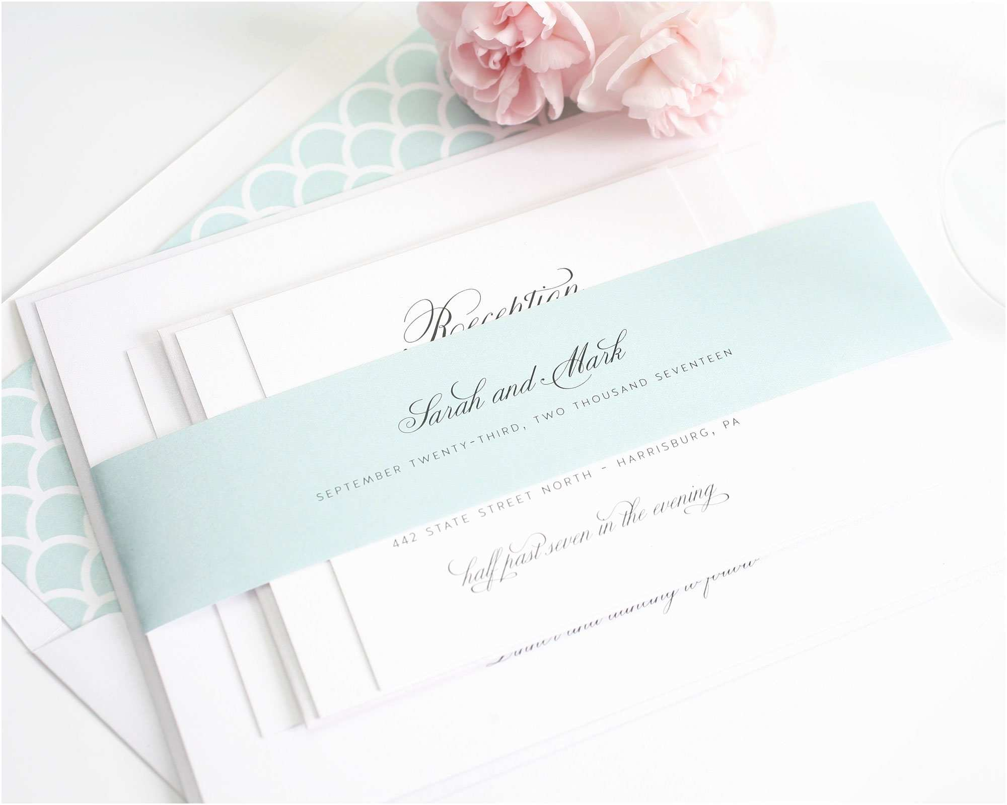 Mint Color Wedding Invitations 2015 Wedding Invitations – A New Collection From Shine