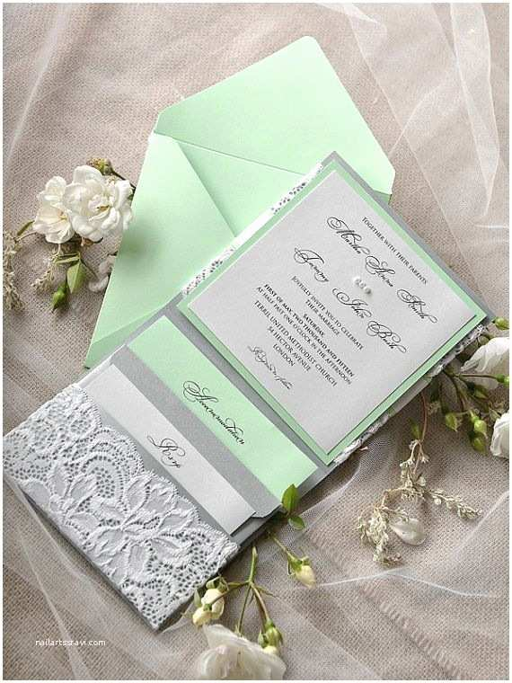 Mint Color Wedding Invitations 25 Best Ideas About Mint Wedding Invitations On Pinterest
