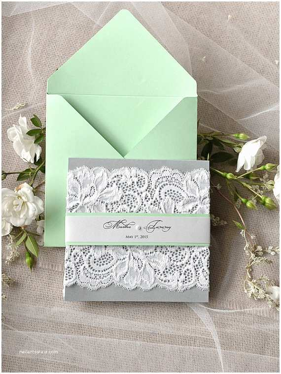 Mint Color Wedding Invitations 50 Mint Wedding Color Ideas You Will Love