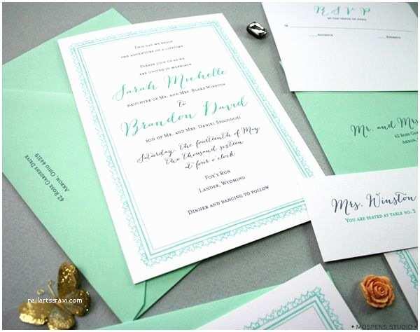 Mint Color Wedding Invitations Best 25 Mint Grey Wedding Ideas On Pinterest