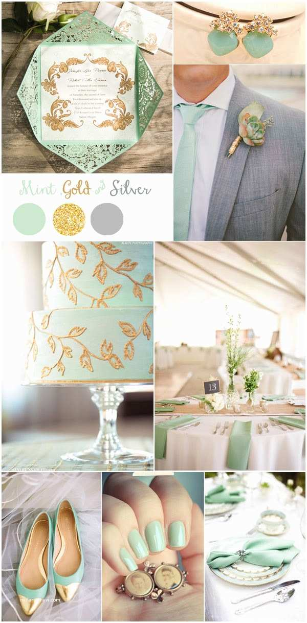 Mint Color Wedding Invitations Gorgeous Mint Invitation Inspired Wedding Color Bo