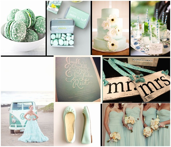 Mint Color Wedding  Mint Green Wedding Inspirations And Wedding