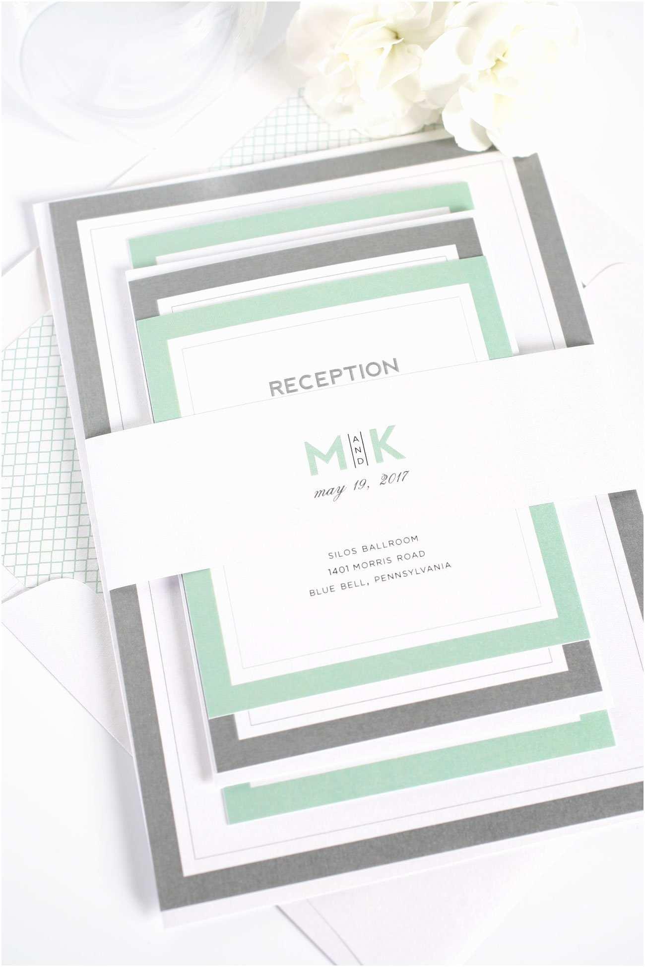 Mint Color Wedding  Mint Jade Pewter Wedding Inspiration – Wedding