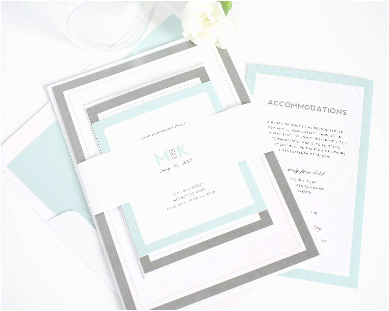 Mint Color Wedding  Modern Mint Wedding  – Wedding