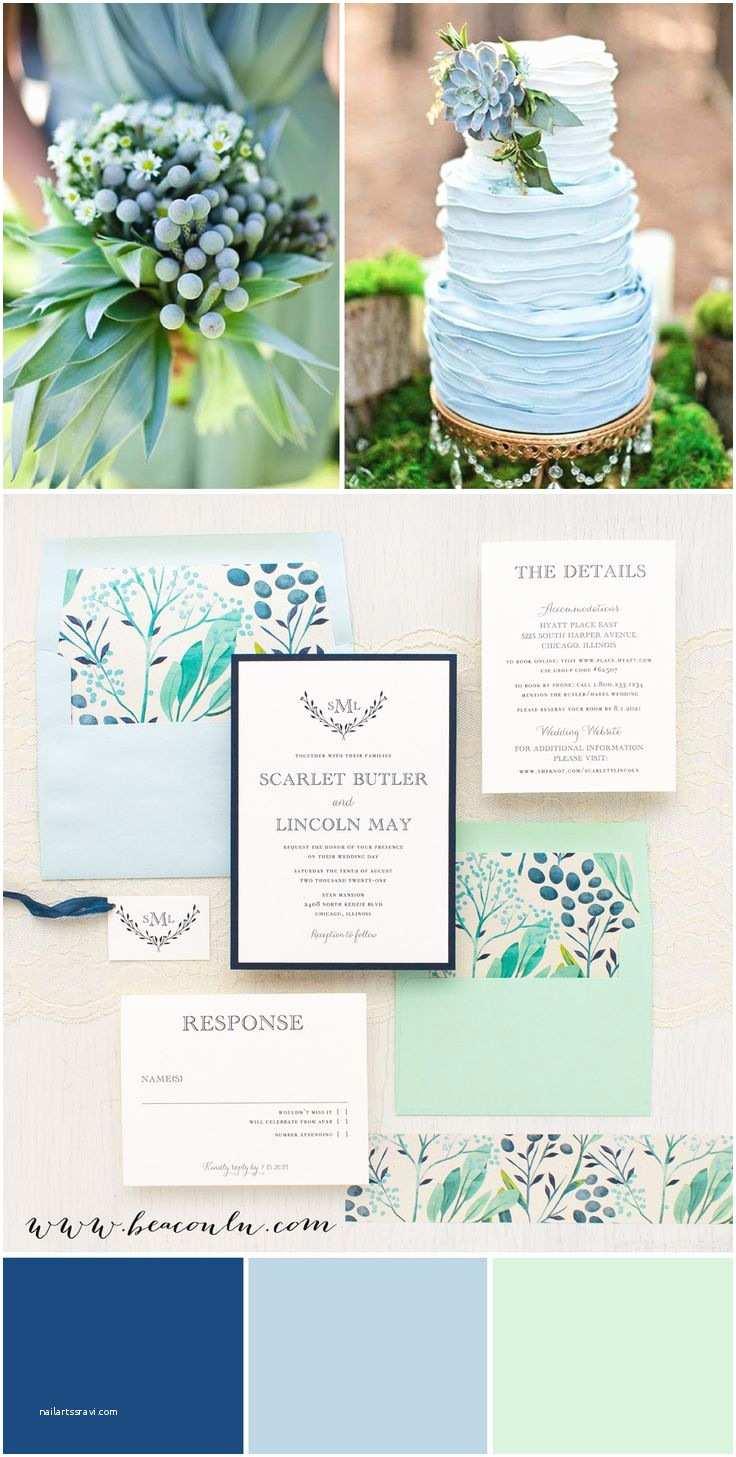 Mint Color Wedding Invitations The 25 Best Navy Mint Wedding Ideas On