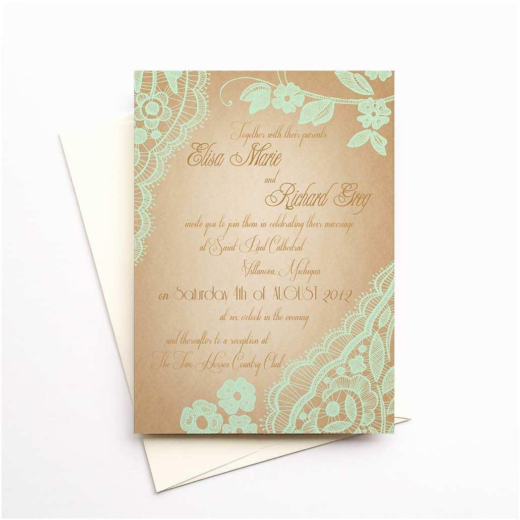 Mint Color Wedding Invitations Top Bellevue Mint For Minted Wedding Invitations On