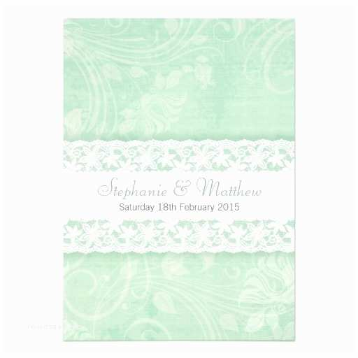 mint green wedding invitationstml
