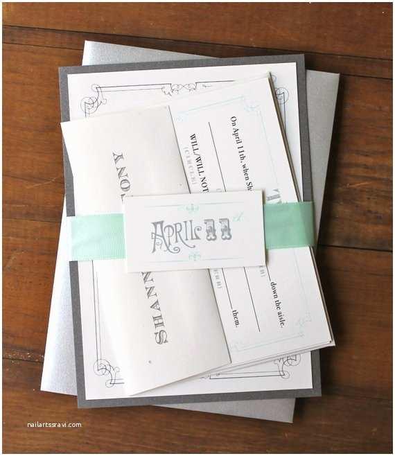 Mint Green Wedding Invitations Mint Green Wedding Invitations Pale Mint Seafoam Green