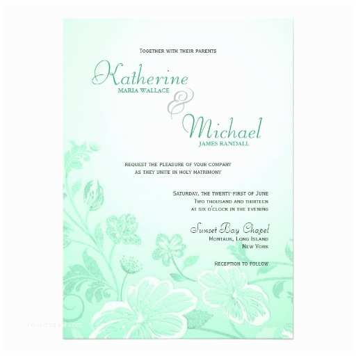 Mint Wedding Invitations How To Create