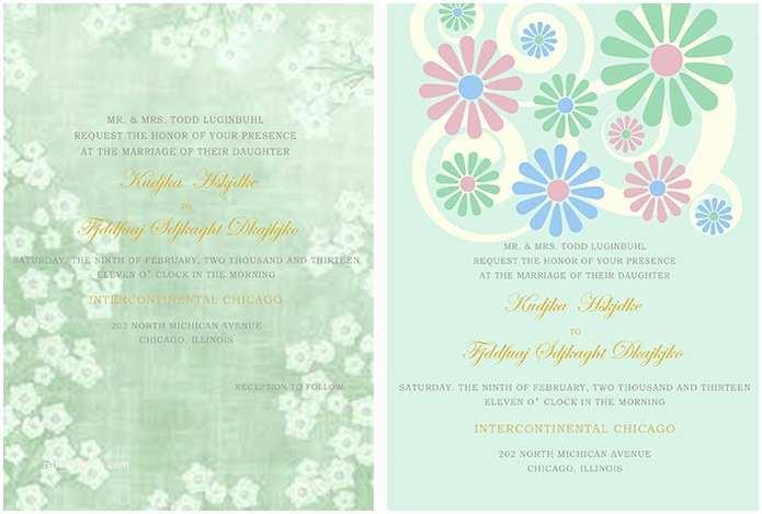 Mint Wedding Invitations Wedding Invitation for Mint Green Wedding Archives