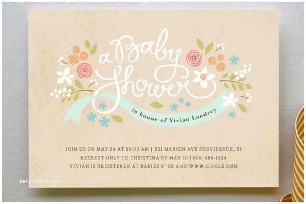 Minted Baby Shower Invitations Baby Shower Invitations at Minted Paper Crush