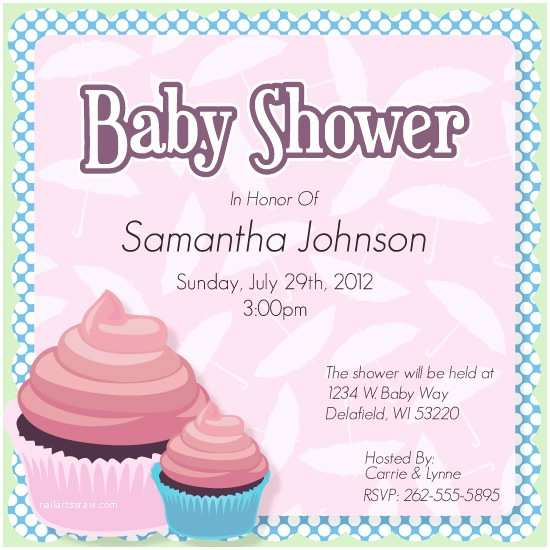 Minted Baby Shower Invitations Baby Shower Invitations Baby Shower Cupcake at Minted