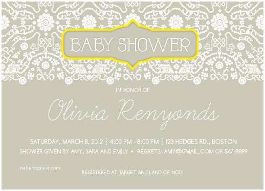 Minted Baby Shower Invitations Baby Shower Invitations Lacey Journal at Minted