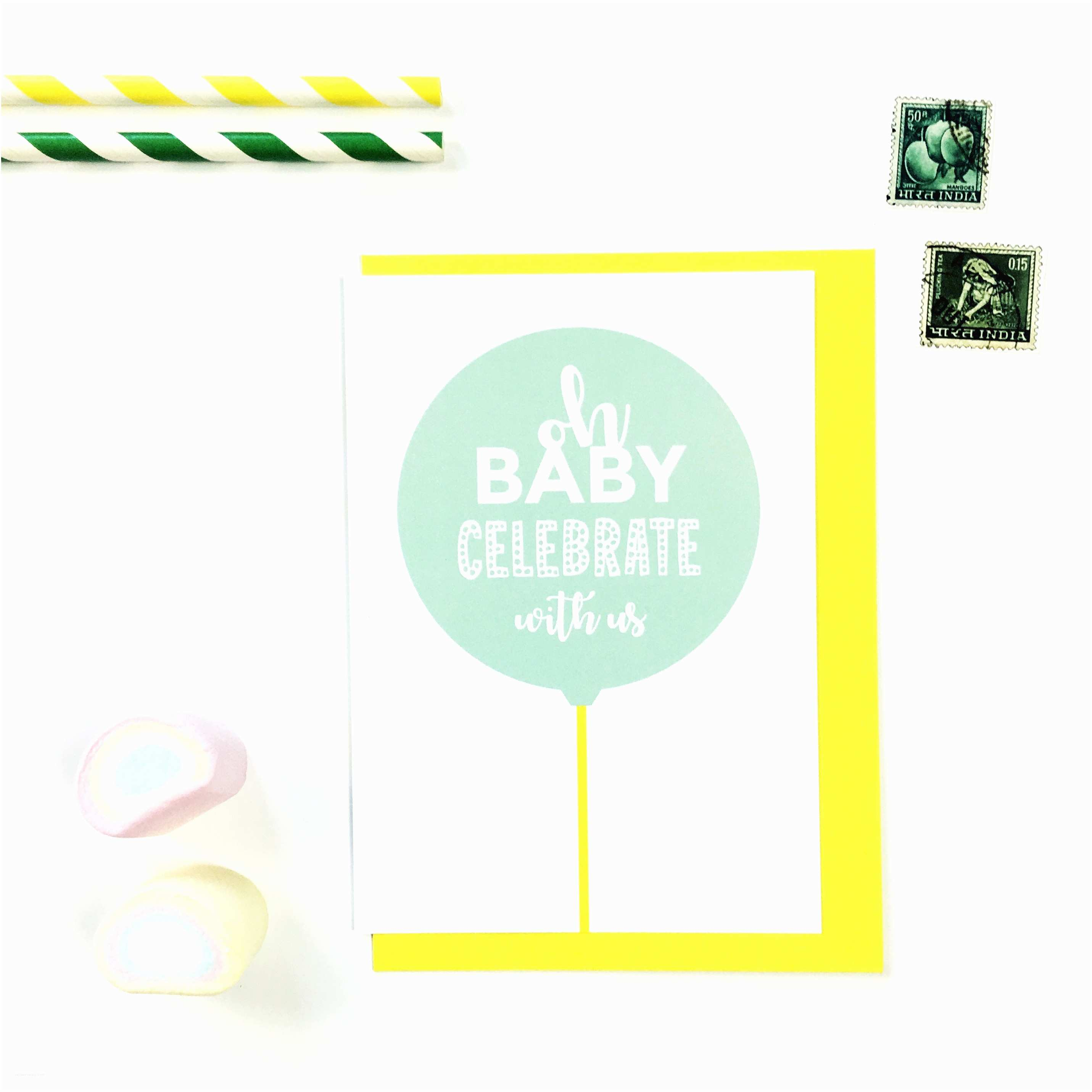 Minted Baby Shower Invitations Oh Baby Celebrate with Us Mint Baby Shower Invitations