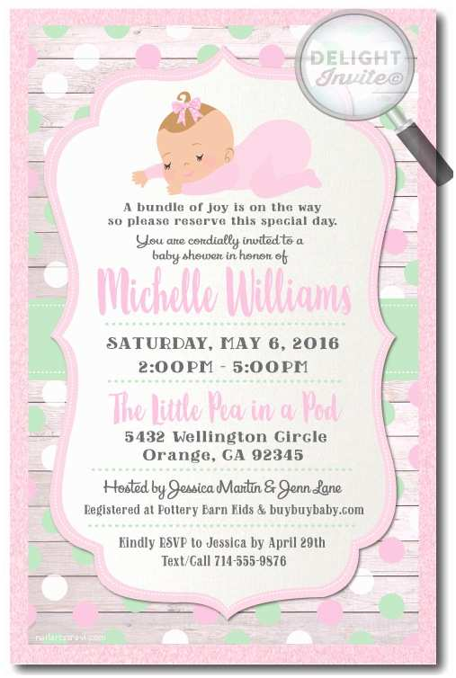 Minted Baby Shower Invitations Pink and Mint Polkadot Baby Shower Invitations for Girls